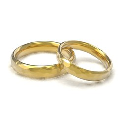 model 4.60.jpg Download OBJ file Beautiful nature wedding comfort rings • Object to 3D print, papcarlo