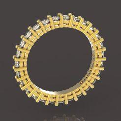 Descargar archivos 3D anillo 27 gemas, papcarlo