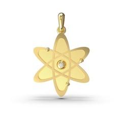 model 4.289.jpg Télécharger fichier OBJ Un nouvel atome avec une gemme • Design pour impression 3D, papcarlo