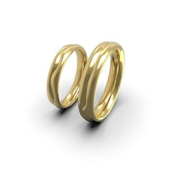 1 (1).jpg Download STL file 2 lives 1 fate wedding comfort rings • 3D printer model, papcarlo