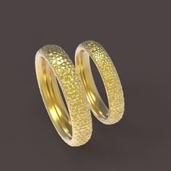 1 (1).jpg Download STL file Dragon comfort wedding rings • 3D printer design, papcarlo