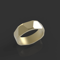 2.80.png Download OBJ file Male ring • 3D printing design, papcarlo