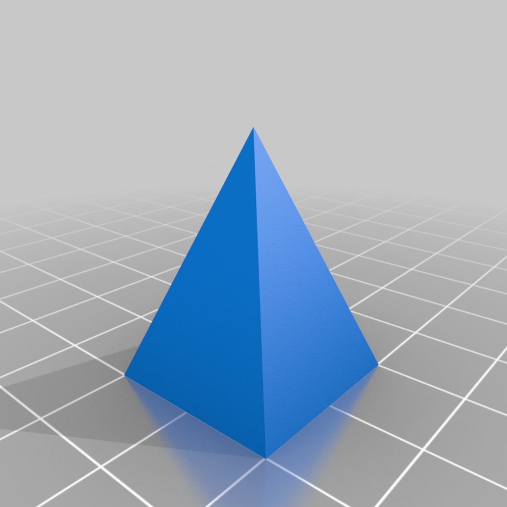 pyramid.png Download free STL file geometric shapes • 3D print object, seppemachielsen