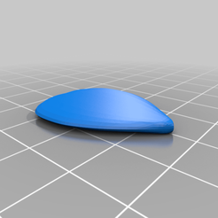 Guitar_Pick.png Download free STL file Quitar Pick • 3D printable template, seppemachielsen