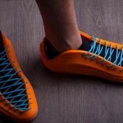 Descargar modelos 3D gratis modernas zapatillas impresas en 3D, seppemachielsen