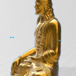 3.jpg Download STL file - Jebus - Buddha Jesus - Buddha Jesus • 3D printer object, lucasgrillovcp