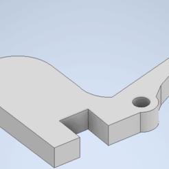 Download 3D printing files lock for charging handle m4 airsoft, amcrestani99