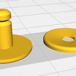 Download free STL file JT Mask Fastener • 3D printing model, lhemz2020