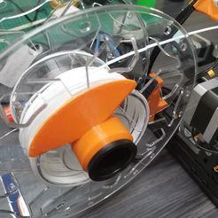 104589353_1546857732158742_8116546987952728509_n.jpg Download free STL file Spool Guide Stabilizer • 3D printing template, lhemz2020