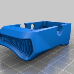AnalogBaseOrganic_Final.png Télécharger fichier STL gratuit Solution de montage de l'adaptateur analogique URUAV pour les lunettes FPV de DJI. • Plan pour imprimante 3D, JTR1