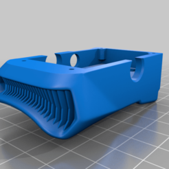 AnalogBaseOrganic_Final.png Download free STL file DJI FPV Goggles URUAV Analog Adapter mounting solution. • Design to 3D print, JTR1