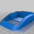 Télécharger fichier STL gratuit Solution de montage de l'adaptateur analogique URUAV pour les lunettes FPV de DJI. • Plan pour imprimante 3D, JTR1
