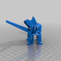 """Twig_ET5_CanopyVista_RXAnt_AXII_2mm.png Download free STL file Caddx Vista/Nebula Canopy for TWIG. 3 """", 4"""" and 5"""" (ET5). • 3D printing object, JTR1"""
