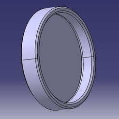 Bouchon carbu dia 62.jpg Download STL file Mikuni Yamaha YZ Honda CR Carbu Plug • 3D print design, M46-parts