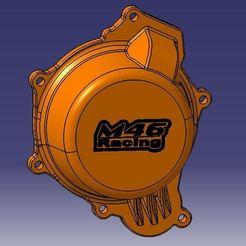 Cache allumage.JPG Télécharger fichier STL Cache allumage KTM Husqvarna 125 150 SX TC 2016-2020 • Plan à imprimer en 3D, M46-parts