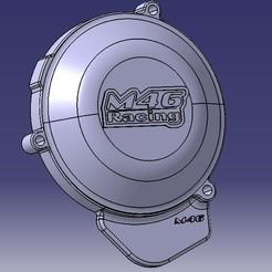 Cache allumage derbi e2.jpg Télécharger fichier STL Carter allumage optimisé Derbi Euro2 • Objet pour imprimante 3D, M46-parts