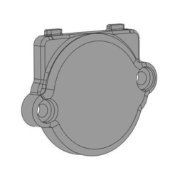 Cache valve YPVS gris.JPG Download STL file Yamaha YPVS Power valve cover • Design to 3D print, M46-parts