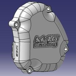 Cache allumage 125 YZ M46.jpg Télécharger fichier STL Carter d'allumage Yamaha 125 YZ • Modèle pour impression 3D, M46-parts