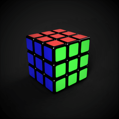 Descargar archivos STL Modelo de trabajo del cubo de Rubik, yashankmathur21