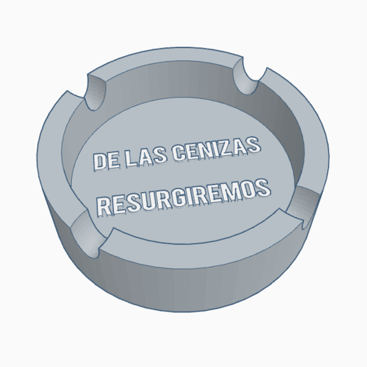 Download OBJ file ashtray • Model to 3D print, PabloGomez