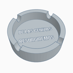 Download 3D printing models ashtray, PabloGomez