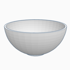 Download free 3D printing files Bowl, PabloGomez