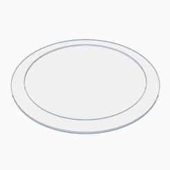 Download free OBJ file Dish • 3D printing template, PabloGomez