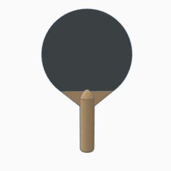 Imprimir en 3D Pala pingpong , PabloGomez