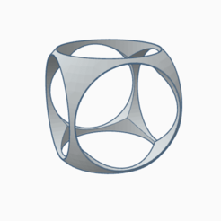 Download OBJ file Cubic ring • 3D print template, PabloGomez
