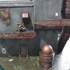Descargar diseños 3D gratis Wargame 28/32mm camina, akewea