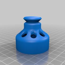 Impresiones 3D gratis Cucharas de Falafel / Moldes / Moldeadores, akewea