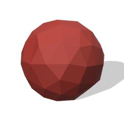 Télécharger fichier imprimante 3D gratuit Low Poly Ball, MINIKIN