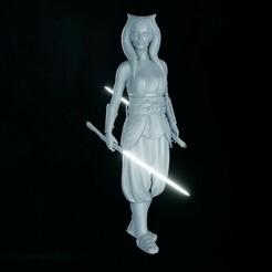 ahsoka cults 01.jpg Télécharger fichier STL Ahsoka Tano 1/6 figure • Modèle pour imprimante 3D, Gizmodels