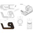 Plan2.PNG Télécharger fichier STL gratuit Distributeur de ruban adhésif • Modèle imprimable en 3D, Jetstorm-3D