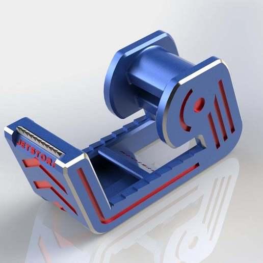 Final7.JPG Télécharger fichier STL gratuit Distributeur de ruban adhésif • Modèle imprimable en 3D, Jetstorm-3D