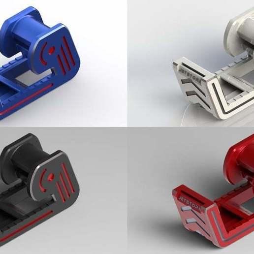 Tot.jpg Télécharger fichier STL gratuit Distributeur de ruban adhésif • Modèle imprimable en 3D, Jetstorm-3D