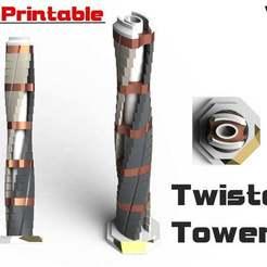 Descargar Modelos 3D para imprimir gratis Torre torcida..., Jetstorm-3D