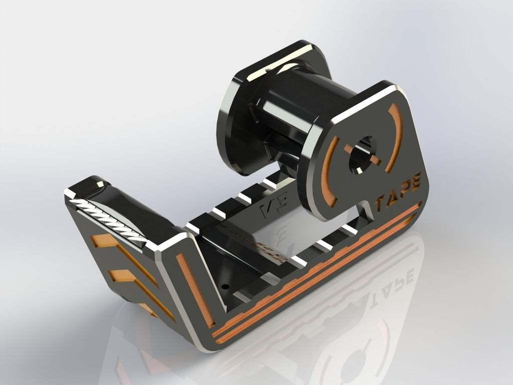 04.JPG Télécharger fichier STL gratuit Distributeur de ruban adhésif • Modèle imprimable en 3D, Jetstorm-3D