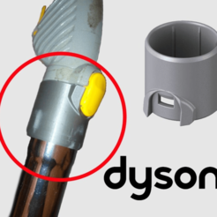 Thumb_Real.png Download free STL file Dyson ® DC05 Absolute Tube Connector • Object to 3D print, Jetstorm-3D