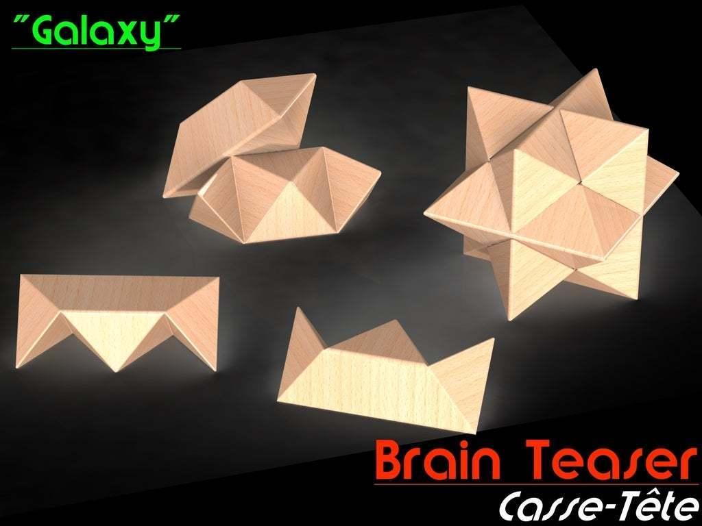 "Thumb.JPG Download free GCODE file Brain Teaser ""Galaxy"" • 3D print template, Jetstorm-3D"
