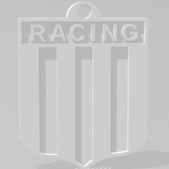 Download 3D printer files Llavero de Racing, MartinAonL