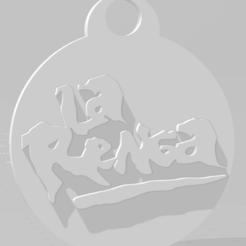 Download 3D printing models Llavero de La Renga, MartinAonL