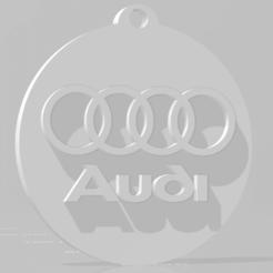 descarga (57).png Télécharger fichier STL Llavero de Audi - Porte-clés Audi • Design imprimable en 3D, MartinAonL