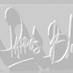 Download 3D printer templates Llavero de Pappo's Blues, MartinAonL