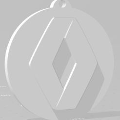 descarga (85).png Download STL file Llavero de Renault - Renault keychain • 3D printing object, MartinAonL