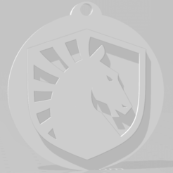 Download 3D printer templates Team Liquid keychain, MartinAonL