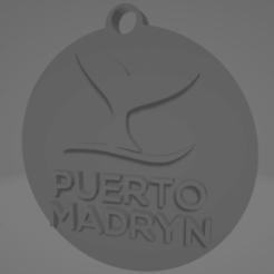 descarga (30).png Télécharger fichier STL Llavero de Puerto Madryn • Plan pour impression 3D, MartinAonL