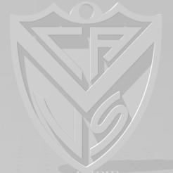 Download 3D printing files Llavero de Vélez Sarsfield, MartinAonL