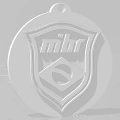 descarga (5).png Download STL file MIBR keychain • Template to 3D print, MartinAonL