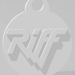 Download 3D printer designs Llavero de Riff, MartinAonL